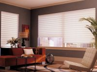 Cortinas Vignette: La Cortina Vignette®, producto exclusivo de Luxaflex®, está inspirado en la cortina Romana Store tradicional y entrega mejoras definitivas en cuanto a funcionalidad y decoración.